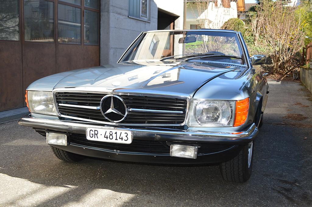 MB 350 SL W 107