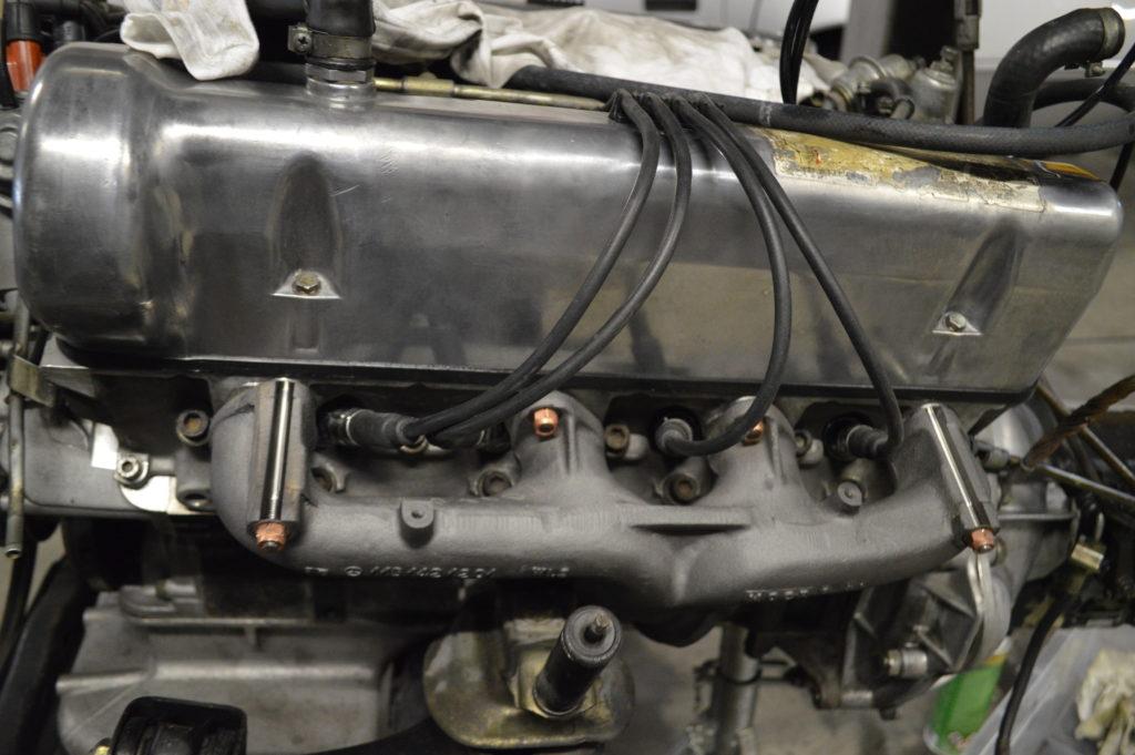 MB 350 SL Motor nach Restauration